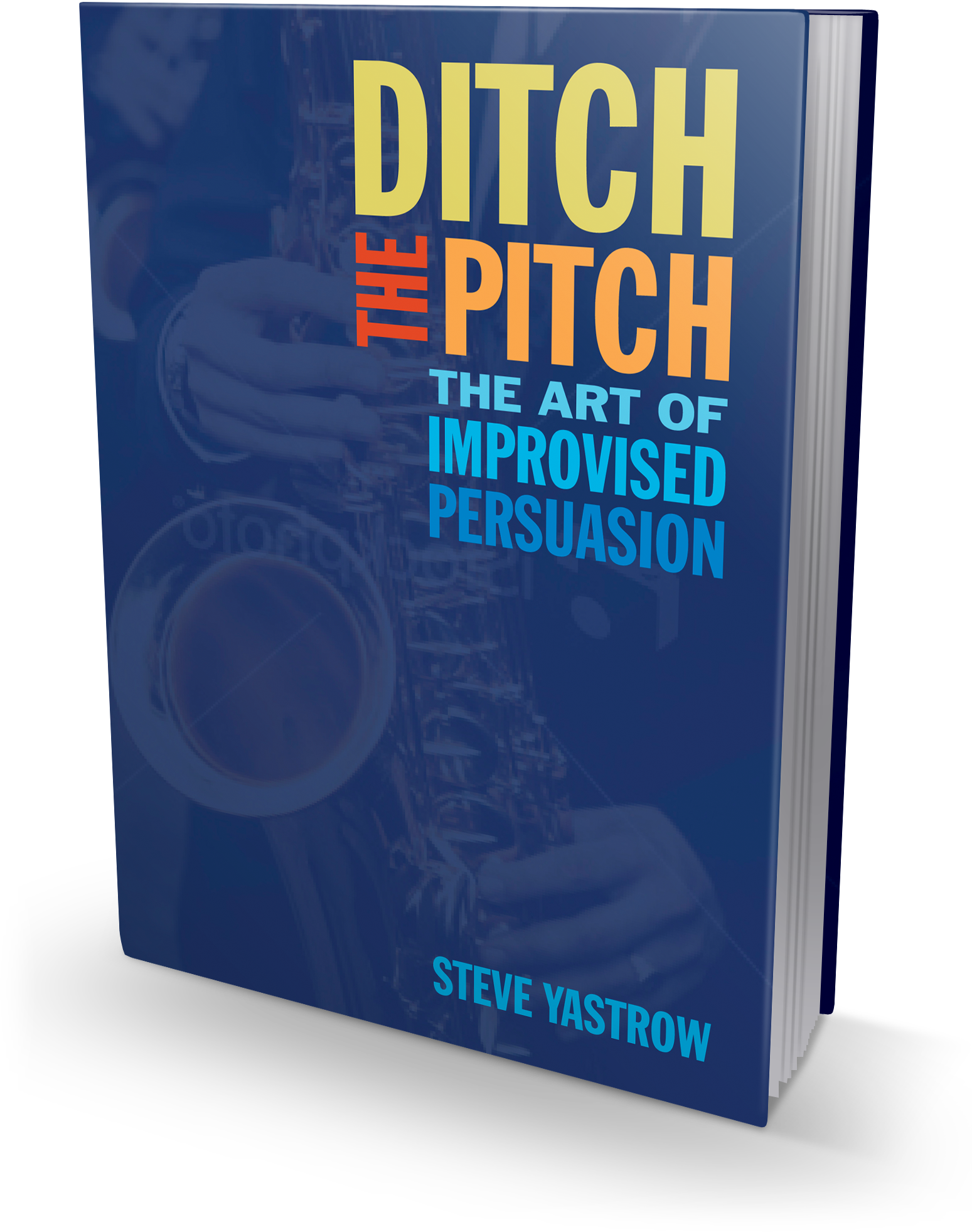 Ditch the Pitch book cover