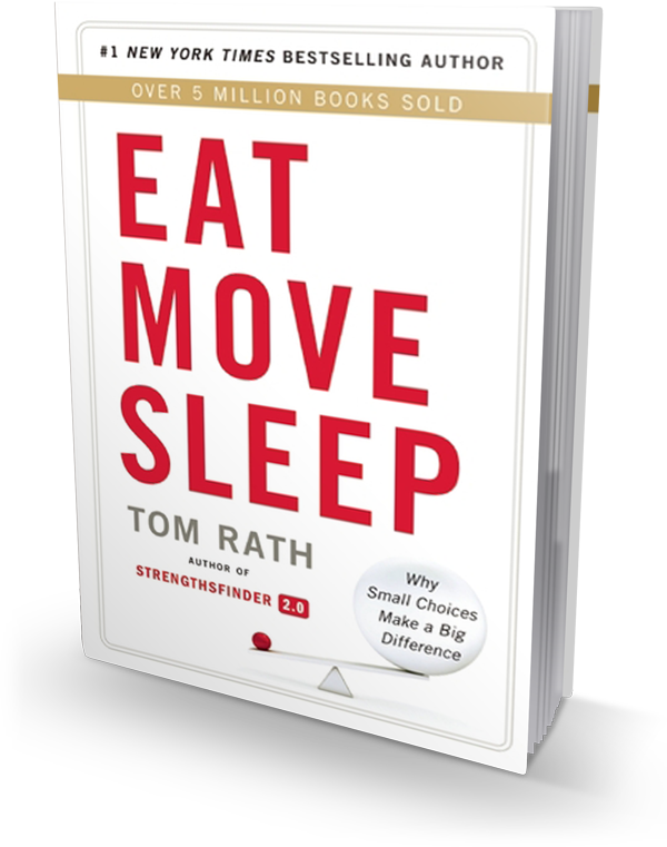 Eat Move Sleep book cover