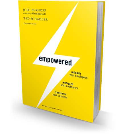 Empowered book cover