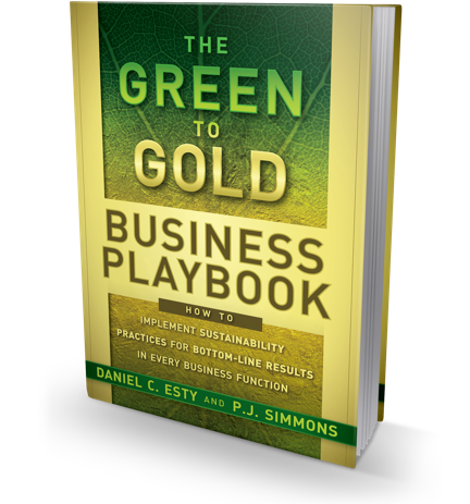 The Green to Gold Business Playbook book cover