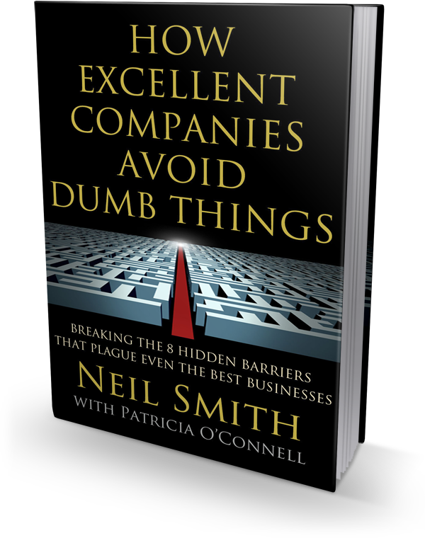 How Excellent Companies Avoid Dumb Things book cover