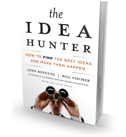 The Idea Hunter book cover