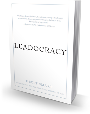 Leadocracy book cover