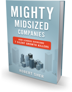Mighty Midsized Companies book cover