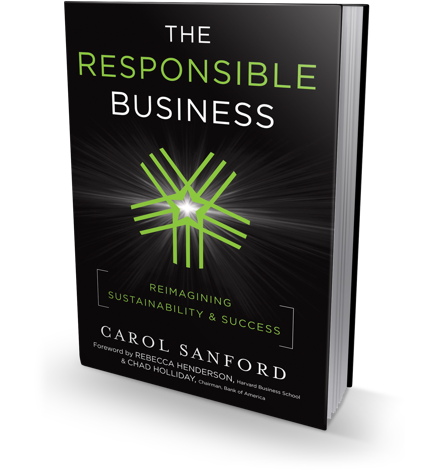 The Responsible Business book cover
