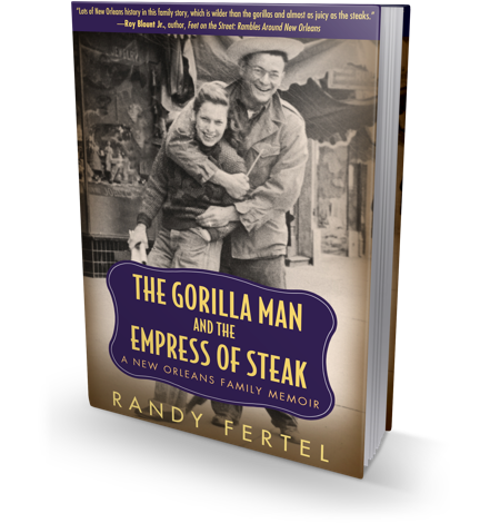 The Gorilla Man and the Empress of Steak book cover