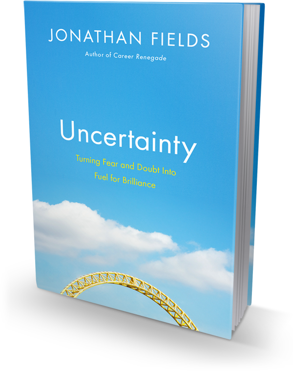 Uncertainty book cover