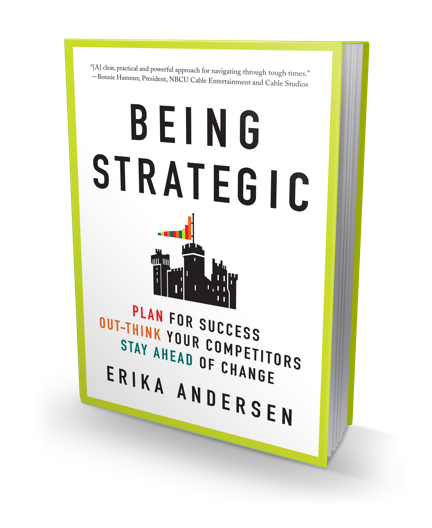 Being Strategic book cover