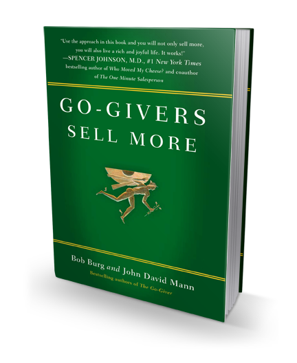 Go-Givers Sell More book cover