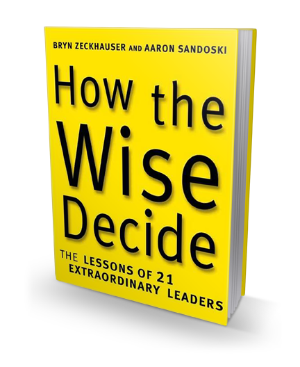 How the Wise Decide book cover