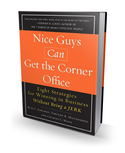 Nice Guys Can Get the Corner Office book cover