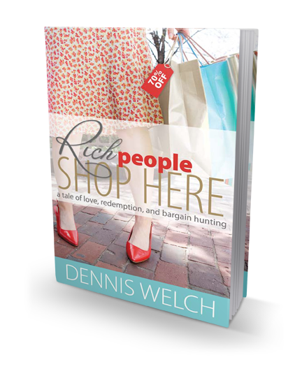 Rich People Shop Here book cover
