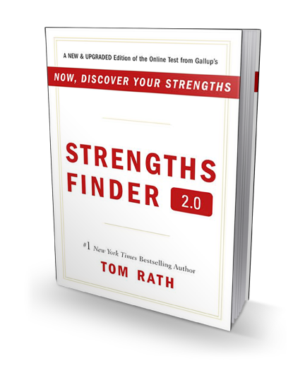 StrengthsFinder 2.0 book cover
