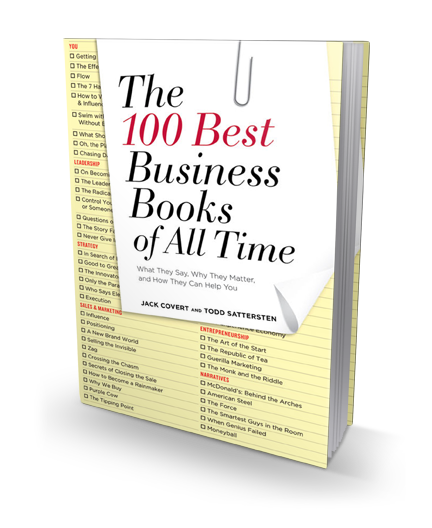 The 100 Best Business Books of All Time book cover