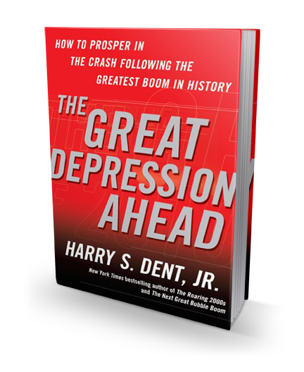 The Great Depression Ahead book cover