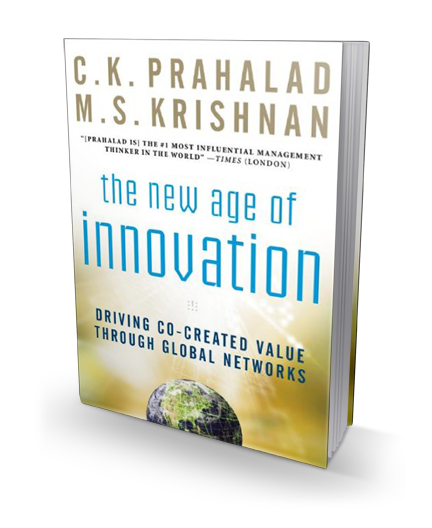 The New Age of Innovation book cover