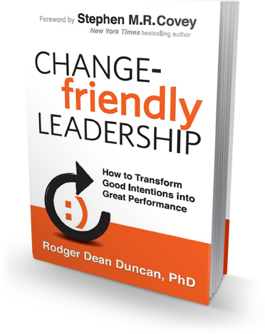 Change-Friendly Leadership book cover