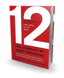 12: The Elements of Great Management book cover