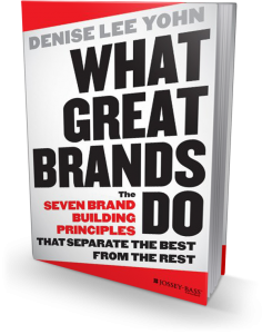 What Great Brands Do book cover