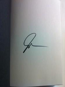 John Green signature