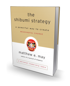 The Shibumi Strategy