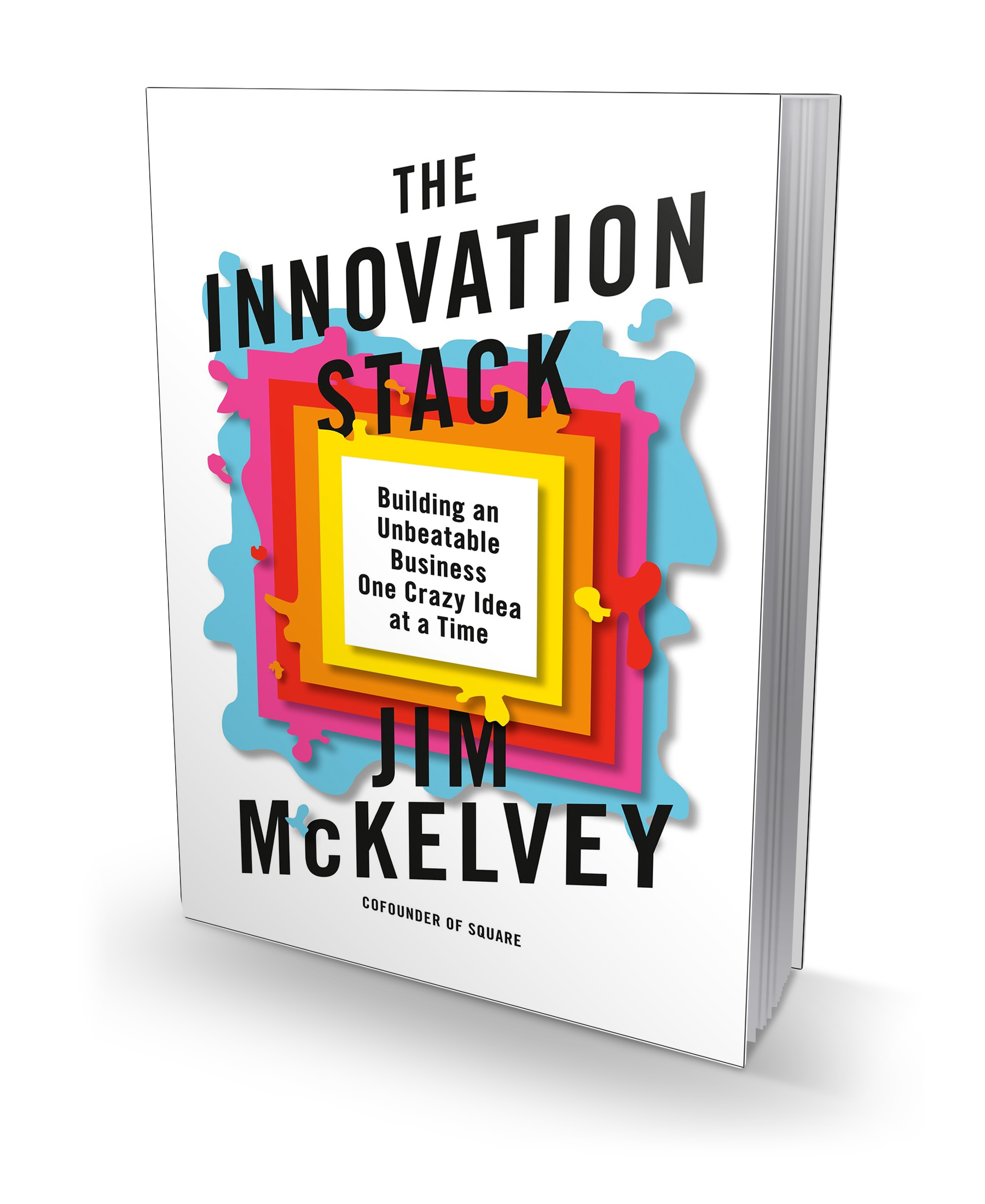 3D Book Jacket_THE INNOVATION STACK