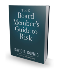 The Board Member's Guide to Risk